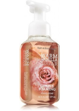 Gentle Foaming Hand Soap Warm Vanilla Sugar Bath and Body Works