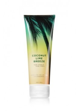 Crème pour le corps Coconut Lime Breeze Bath and Body Works