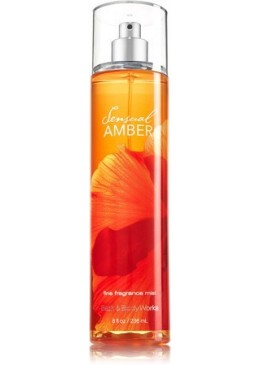 Brume Parfumée Sensual Amber Bath and Body Works