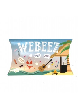 Pack de 6 Webeez collection été