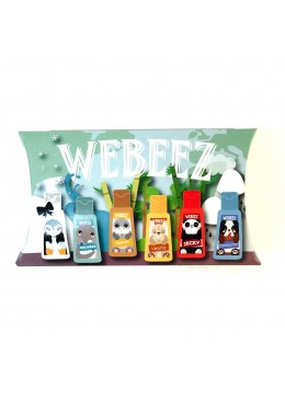 Pack de 6 WeBeez Collection Animaux