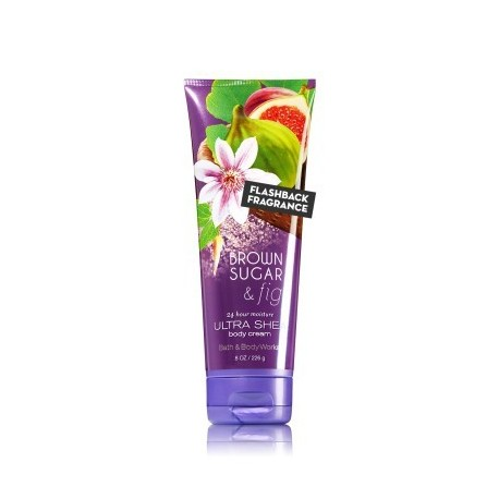 Crème pour le corps Brown Sugar & Fig Bath and Body Works