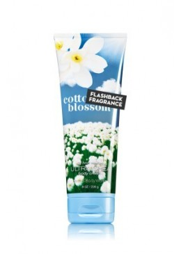 Crème pour le corps Cotton Blossom Bath and Body Works