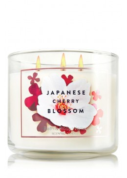 Bougie 3 mèches Japanese Cherry Blossom Bath and Body Works
