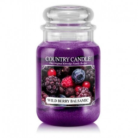 Grande Jarre Wild Berry Balsamic Country Candle