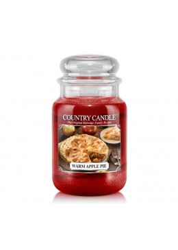 Grande Jarre Warm Apple Pie Country Candle