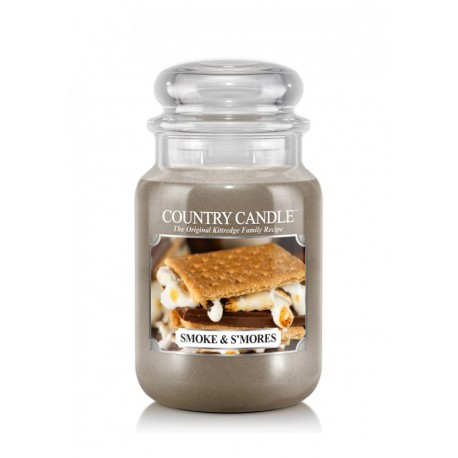Grande Jarre Smoke & S'mores Country Candle