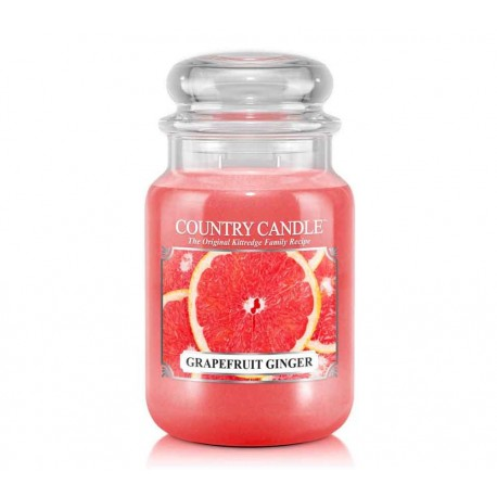 Grande Jarre Grapefruit Ginger Country Candle