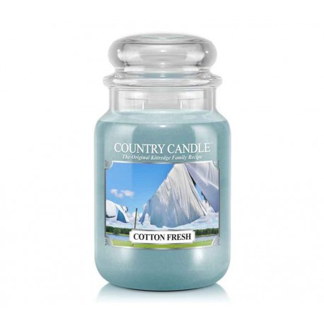 Grande Jarre Cotton Fresh Country Candle