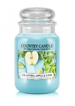 Grande Jarre Cilandro Apple & Lime Country Candle