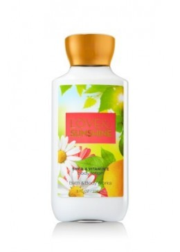Lotion Corporelle Love Sunshine Bath and Body Works