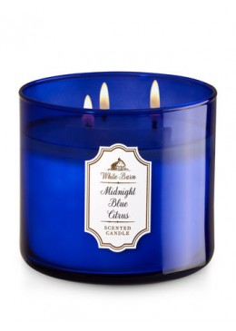 Bougie 3 Mèches Midnight Blue Citrus Bath and Body Works