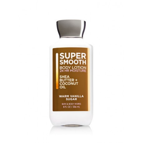 Lotion Corporelle SUPER SMOOTH Warm Vanilla Sugar Bath and Body Works