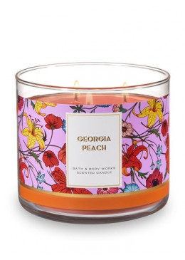 Bougie 3 Mèches Georgia Peach Bath and Body Works