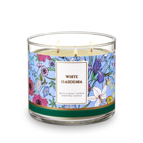 Bougie 3 Mèches White Gardenia Bath and Body Works