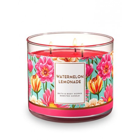 Bougie 3 Mèches Watermelon Lemonade Bath and Body Works