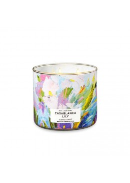 Bougie 3 mèches Casablanca Lilly Bath & Body Works