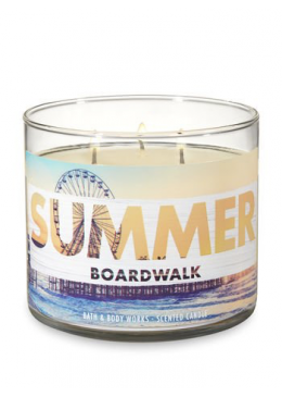 Bougie 3 mèches  Summer Broadwalk Bath & Body Works