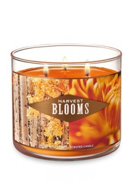 Bougie 3 mèches Harvest Bloom Bath & Body Works