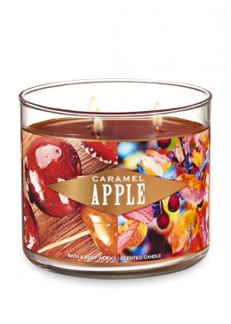 Bougie 3 mèches Caramel Apple Bath & Body Works