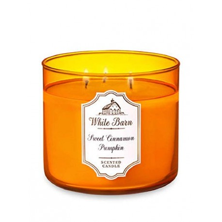 Bougie 3 mèches Sweet Cinnamon Pumpkin Bath and Body Works